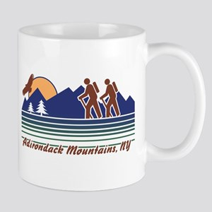 Hike Adirondack Mountains Mug