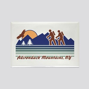 Hike Adirondack Mountains Rectangle Magnet
