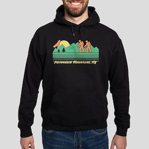 Hike Adirondack Mountains Hoodie (dark)