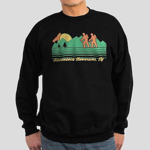 Hike Adirondack Mountains Sweatshirt (dark)