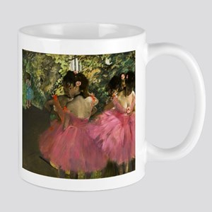 Ballerinas in Pink by Edgar Degas Mugs