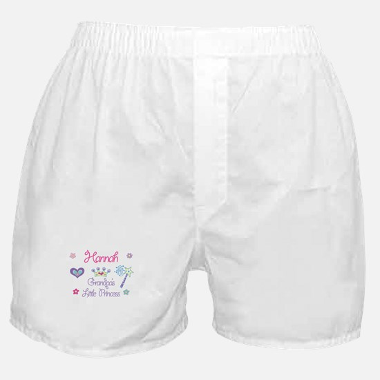 Hannah - Grandpa's Little Pri Boxer Shorts