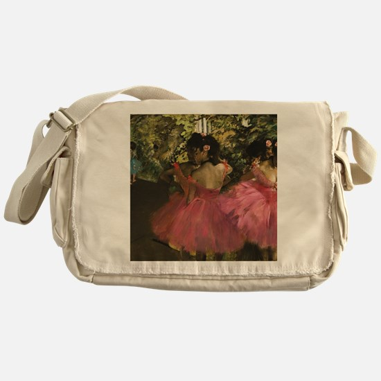 Cute Actress pink Messenger Bag