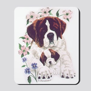Saint Bernards Mousepad