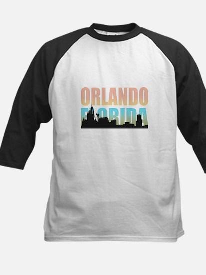 Orlando Florida Kids Baseball Jersey