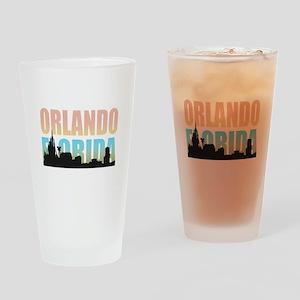 Orlando Florida Drinking Glass