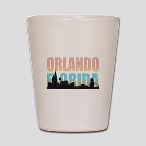 Orlando Florida Shot Glass