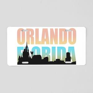 Orlando Florida Aluminum License Plate