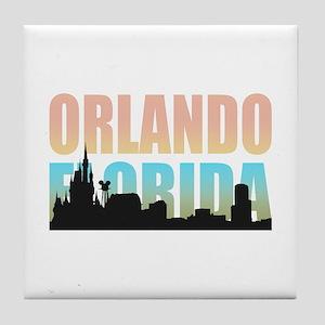 Orlando Florida Tile Coaster