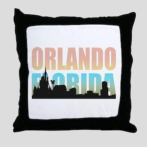 Orlando Florida Throw Pillow