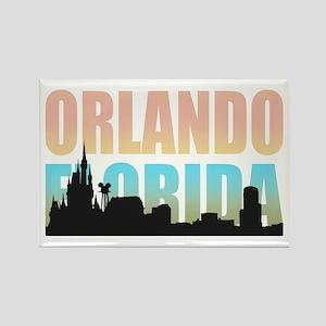 Orlando Florida Rectangle Magnet