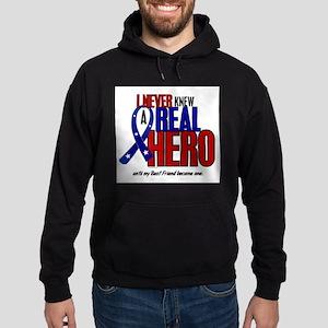 Never Knew A Hero 2 Military (Best Friend) Sweatsh