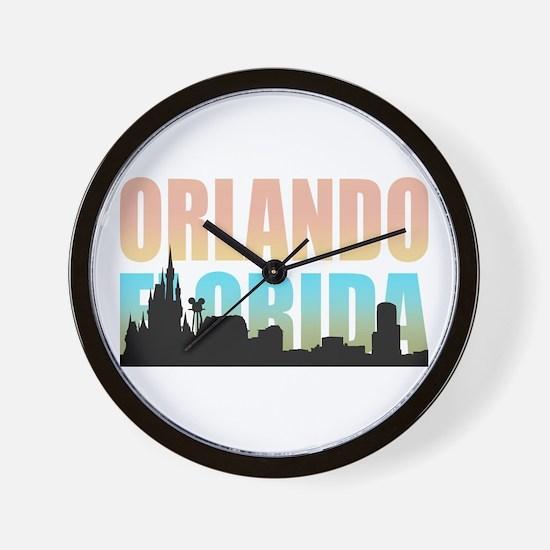 Orlando Florida Wall Clock