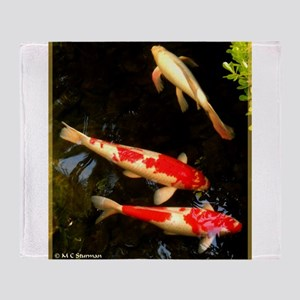 Koi! Fish photo! Throw Blanket