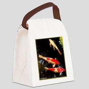 Koi! Fish photo! Canvas Lunch Bag