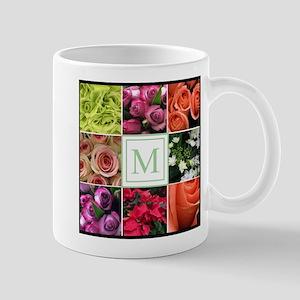 Photo Block with Monogram Mugs