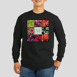 Photo Block with Monogram Long Sleeve T-Shirt