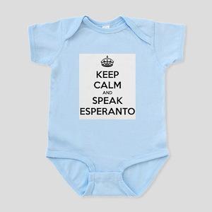 KEEP CALM AND SPEAK ESPERANTO Body Suit