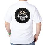 Premium Darts Skull Golf Shirt