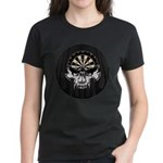 Premium Darts Skull Women's Dark T-Shirt