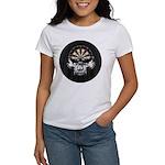 Premium Darts Skull Women's T-Shirt