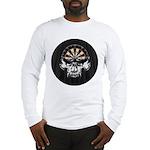 Premium Darts Skull Long Sleeve T-Shirt