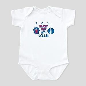 Blast Off with Collin Infant Bodysuit