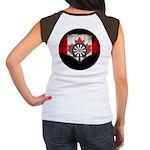 Darts Canada Junior's Cap Sleeve T-Shirt