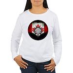 Darts Canada Women's Long Sleeve T-Shirt