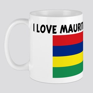 I LOVE MAURITIAN GIRLS Mug
