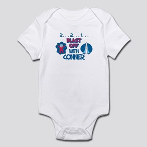 Blast Off with Conner Infant Bodysuit