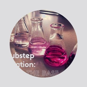 Dubstep titration Round Ornament