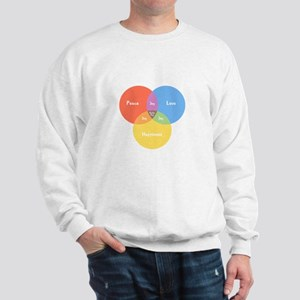 Guitar Pick Venn Sweatshirt