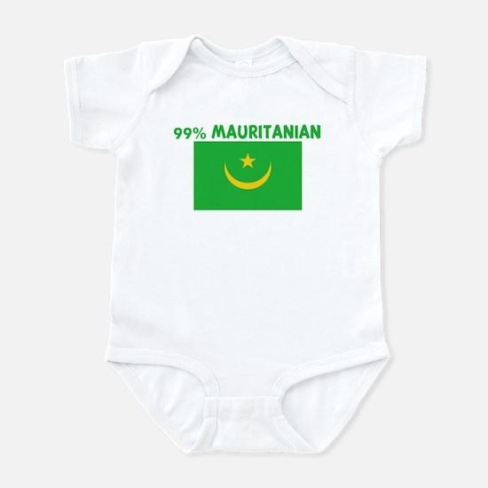 99 PERCENT MAURITANIAN Infant Bodysuit