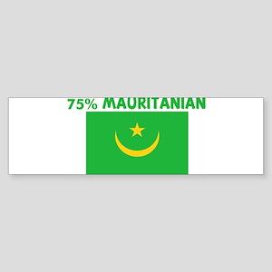 75 PERCENT MAURITANIAN Bumper Sticker