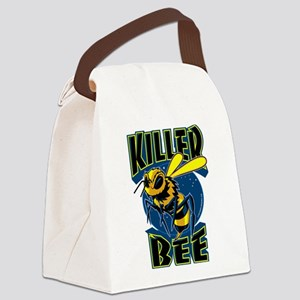Killer Bee Canvas Lunch Bag