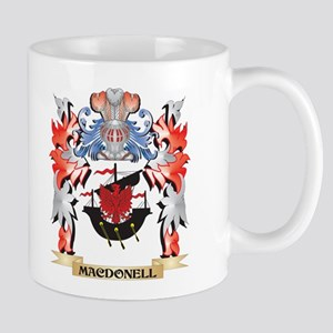 Macdonell Coat of Arms - Family Crest Mugs