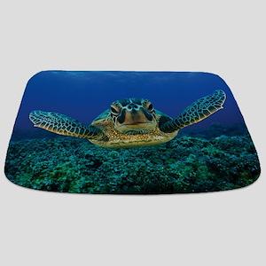 Turtle Swimming Bathmat