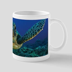 Turtle Swimming Mugs