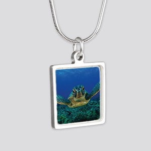Turtle Swimming Necklaces
