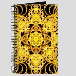Golden Harmoney Mandala Journal