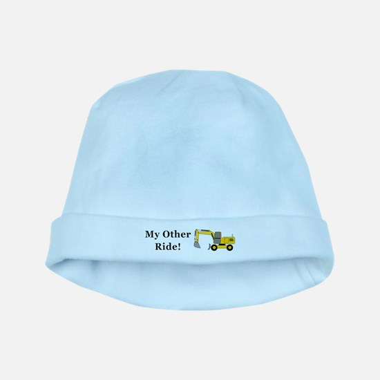 Hoe My Other Ride baby hat