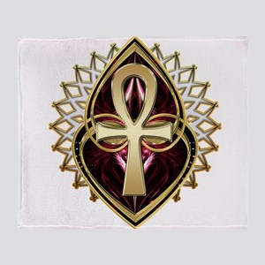 ANKH-LOVE1 Throw Blanket