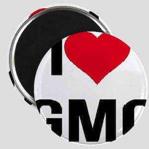 I Love GMO Magnets