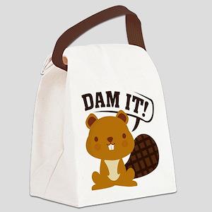 Dam It Canvas Lunch Bag