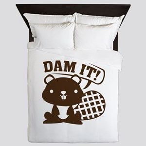 Dam It Queen Duvet