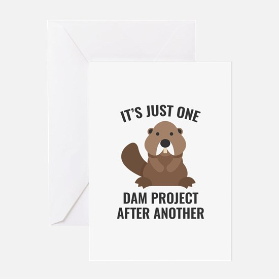 One Dam Project Greeting Card