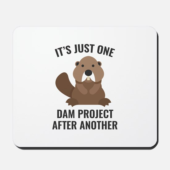 One Dam Project Mousepad