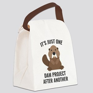One Dam Project Canvas Lunch Bag