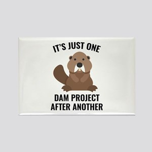 One Dam Project Rectangle Magnet (10 pack)